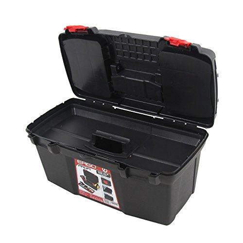 Kunststoff Werkzeugkoffer ERGO Profi 19,5″, 48x26cm Kasten Werzeugkiste Sortimentskasten Werkzeugkasten Anglerkoffer - 5