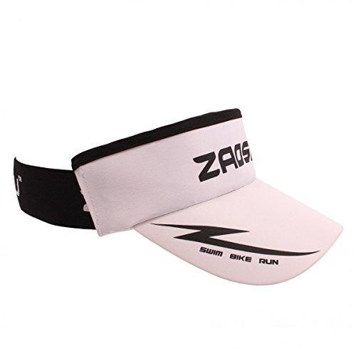 ZAOSU Unisex Running Visor   Schirmmütze zum Joggen und den Triathlon, Farbe:weiß