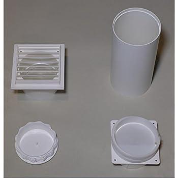 wanddurchf hrung f r abluftschlauch f r remko klimager te mkt 250 251 290 291. Black Bedroom Furniture Sets. Home Design Ideas