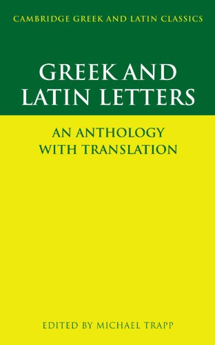 Greek and Latin Letters: An Anthology with Translation