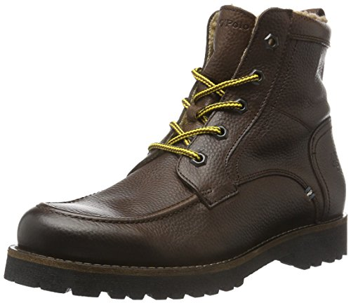 Marc O'Polo Bootie, Stivaletti Uomo, Marrone (Braun (Dark Brown 790)), 41 EU