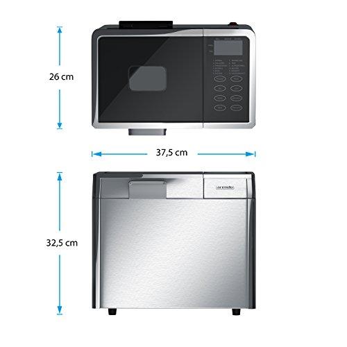 Arendo Edelstahl Brotbackautomat - 4