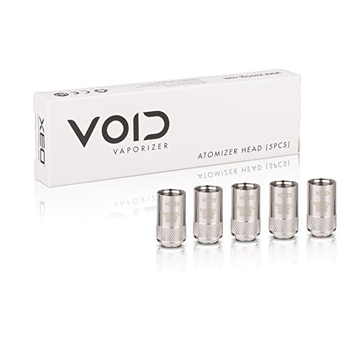 XEO VOID 5 Pack Atomizer Heads - 0.6 Ohm