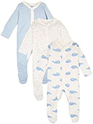 Marks & Spencer Baby Unisex 3 Pack Organic Cotton Patterned Sleeps