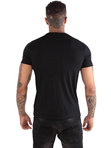 883 Police Herren T-Shirt schwarz schwarz Schwarz