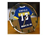 KEVIN SINFIELD - LEEDS RHINOS SUPER LEAGUE RUGBY JERSEY CLOCK - SPORTING LEGENDS LIMITED EDITION - MyShirt123 - amazon.co.uk