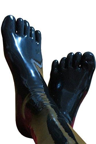 Fetish rubber feet
