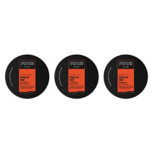 Styling Putty (AXE Spiked Up Look Styling Putty, 2.64 Oz (Pack of 3) by AXE)