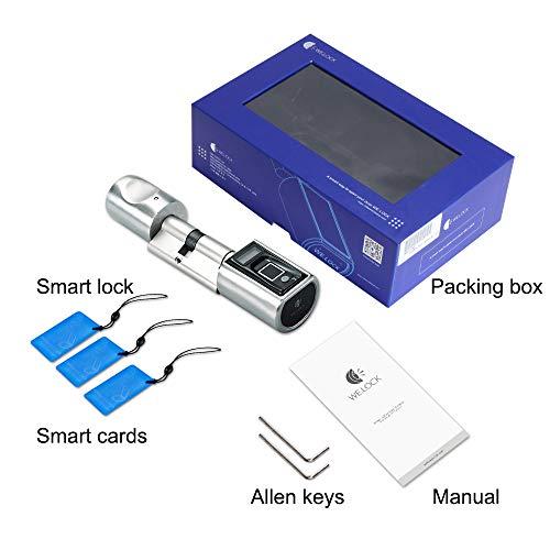 WE.LOCK Biometrischer Fingerabdruck und Bluetooth Smart - 6
