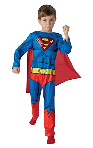 Rubie's 3610780 - Superman Kostüm DC Comics - Child, - Rubies Superman Kostüm