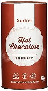 Xucker Trink-Schokolade mit Xylit aus Frankreich - 750 g Packung - Hot...