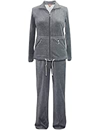 RAIKOU Neu Warmer Damen-Hausanzug, Ladies Casual Dress, Active Wear Yoga & Gym Clothes, Nicki, Jogginganzug, Workout, Womes´s Relax Fit, Leisure Suit