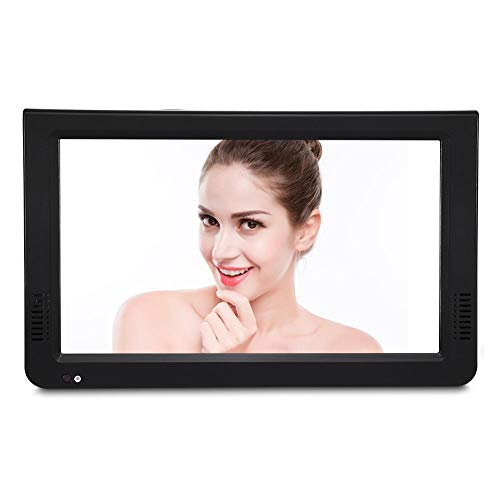 VBESTLIFE DVB-T-T2 Tragbarer Fernseher Digital Analog Fernsehen Portable TV,1024x600 Auflösung,RMVB/AVI/MPEG/MKV/MOV 1080P-Video (10 Zoll)