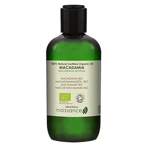 Huile Végétale de Macadamia BIO - 250ml