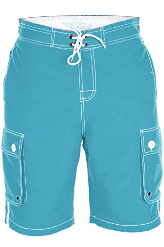 D555 - Short de bain - Homme Bleu - Aqua