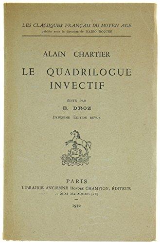 Le Quadrilogue Invectif [Pdf/ePub] eBook
