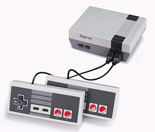 DigitCont Plug & Play Classic-Minikonsole, integriert in 620 Classic Retro Games-Konsole im Dual-Player-Modus PAL NTSL-Unterstützung TV-Ausgabe Bring Back Childhood Memory