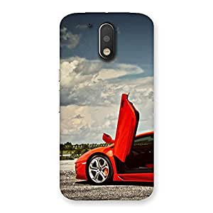Neo World Cars Door Up Back Case Cover for Motorola Moto G4
