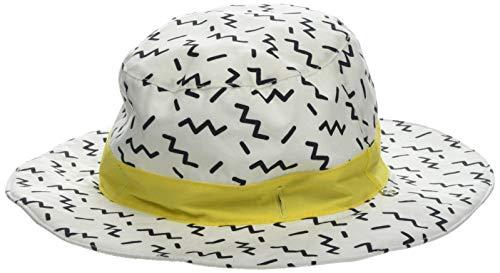 KI ET LA Gorro Reversible 100% Anti UV, Chapeau De Cowboy Bébé garçon, Multicolore Zigzag, 51 (Taille Fabricant: 50/52 Centimeters)