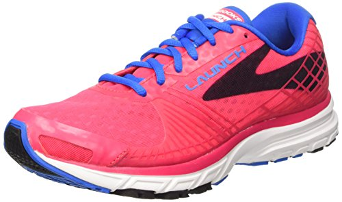 Brooks Launch 3 W, Zapatillas de Running para Mujer, Myla Pink/Electric Blue Lemonade, 38 EU