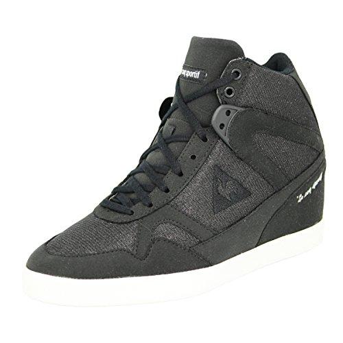 Le Coq Sportif SEGUR SYN SUEDE GLITTER Scarpe Sneakers Nero per Donna