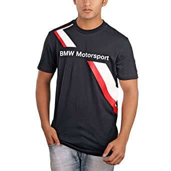 bmw motorsport herren t shirt von puma blau dtm gr e xl. Black Bedroom Furniture Sets. Home Design Ideas