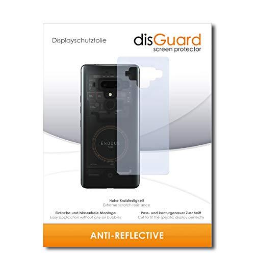 disGuard® Displayschutzfolie [Anti-Reflex] kompatibel mit HTC Exodus 1 [4 Stück] Entspiegelnd, Matt, Antireflektierend, Extrem Kratzfest, Anti-Fingerabdruck - Panzerglas Folie, Schutzfolie