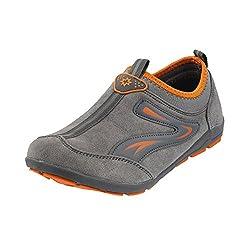 Metro Women Grey Synthetic Walking Shoes ( Size ) EURO41/UK8