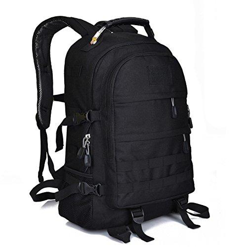Dlflyb Mode Outdoor Fans Professionelle Bergsteigen Taschen Tarnung Taktik Rucksäcke Travel Packages black