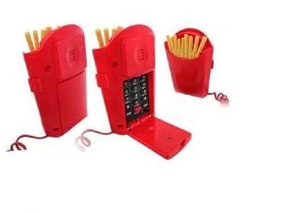 Téléphone Filaire Cornet de Frites by Extreme Design