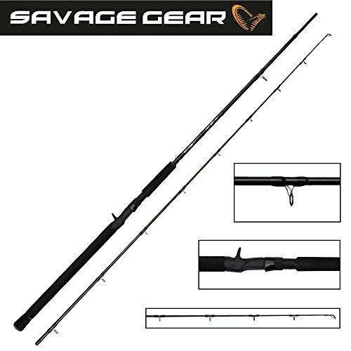 Savage Gear MPP 210cm Big Lure & Jerk 150g Trigger Jerkrute Angelrute für Jerkbaits & Wobbler, Spinnrute zum Jerken, Hechtrute, Zanderrute, Rute für Hecht