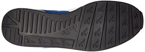 Diadora Camaro, Sneaker a Collo Basso Unisex – Adulto C6631 - BLU NAUTICO-GRIGIO PIOGGIA