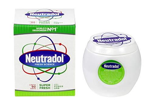 Neutradol Gel-Geruchsneutralisierer, Super Fresh, 3 Packungen