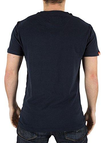 Superdry, Maglietta Uomo Blu