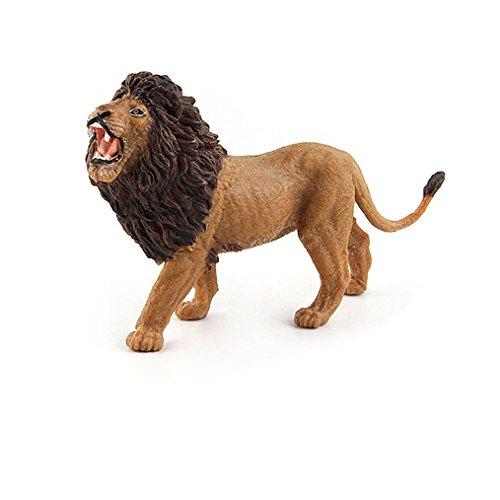 Amazemarket Lebhaft Afrika Löwin Familie Modell Figuren Sammlung Spielzeug Realistisch Tier Kunststoff Vinyl Ornamente entwickeln Kinder Phantasie (A) -