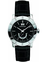 Versace 18A990D009 S009 - Reloj analógico de cuarzo para hombre, correa de otros materiales color negro