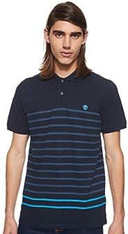 قميص بيكيه مقلم بنمط ريفر من تيمبرلاند ميلرز