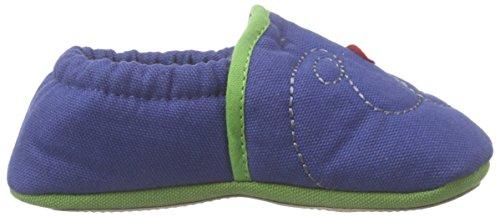 Nanga - Frosch, Scarpine primi passi Bimbo 0-24 Blu (Blau (30))