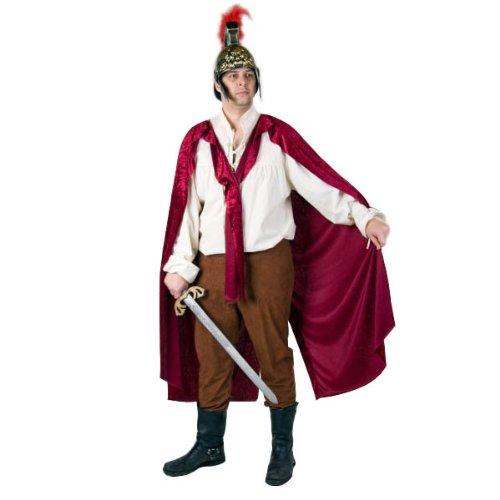 Kostüm Party Martini - WOOOOZY Herren-Mantel St. Martin weinrot Einheitsgröße