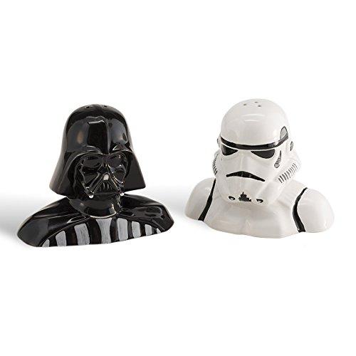 Star Wars Darth Vader y asalto salero y pimentero de cocina especias dispensador de ciencia ficción Sci Fi