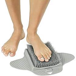 Nettoyant pour pieds de douche, Brosse pour masseur de pieds pour adultes Brosse pour brosses pour les pieds, Brosse pour les pieds exfoliants