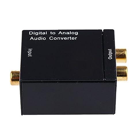 Convertisseur Numerique - Numérique coaxiale optique-analogique convertisseur audio