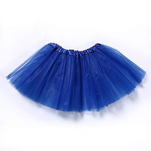 Tutu Rock Classic Stretch Tüll Flauschiger Rock Dress Up Party Kostüm Tanzen Frauen Teen Erwachsener (Marathon Kostüm Mädchen)