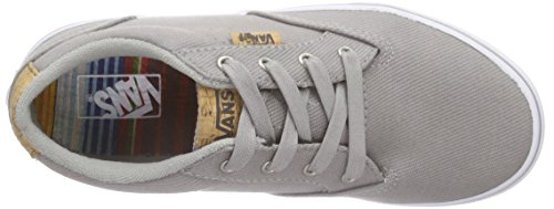 Vans Winston, Baskets Basses Garçon Gris (Washed Twill/Ice Gray/Blanket)