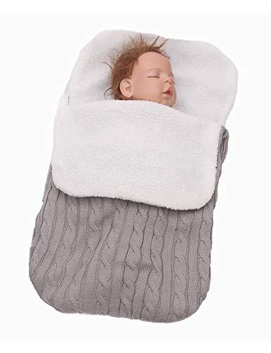 528f8de531a2 Zhhlaixing Sac de Couchage pour Bébé avec Capuchon pour Nouveau-né - Hiver  Gigoteuses Confortable
