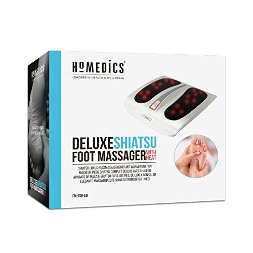 HOMEDICS Massage shiatsu des pieds avec chaleur infrarouge FM-TS 9