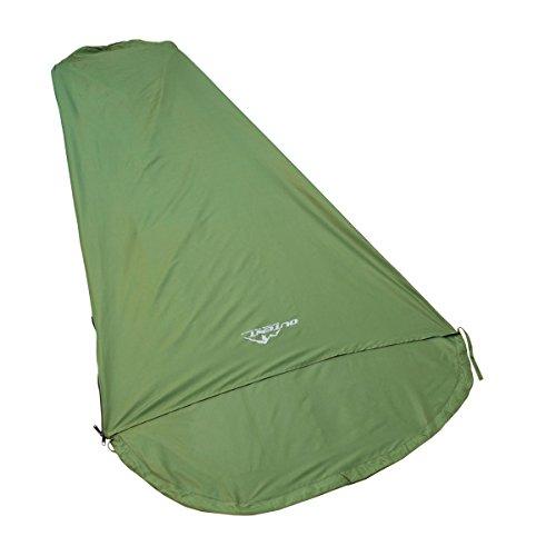Outent® Schlafsack Inlett Cocoon für Schlafsäcke aus 100% Mikrofaser 190 cm - grün