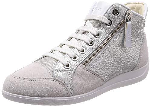 Geox D Myria C Chaussures et Sacs Baskets Hautes Femme