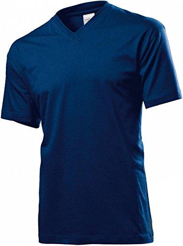 Classic V-Neck Navy Blue