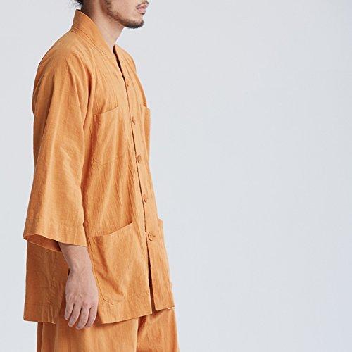 KATUO - Costume - Homme Orange